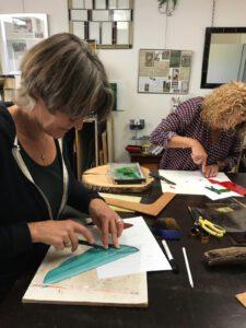 Workshops van 1 dag, fusen, glas in lood, glasmozaiek, tiffany bij Glasatelier