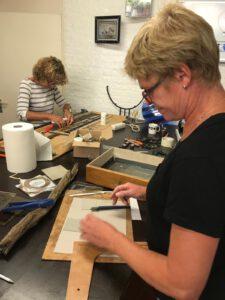 Workshop Glasbewerking bij Glasatelier de Spin in Noord-Brabant