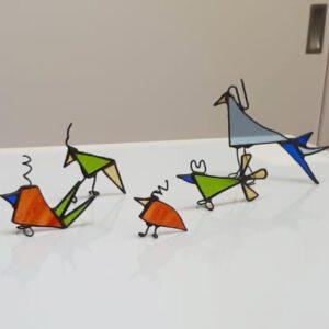 Workshop tiffany bij Glasatelier de Spin Noord-Brabant
